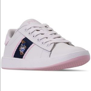 Little Girls' Quilton Bear Casual Sneakers